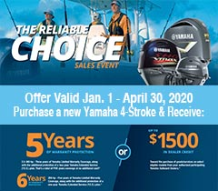 Updated Yamaha winter promotion