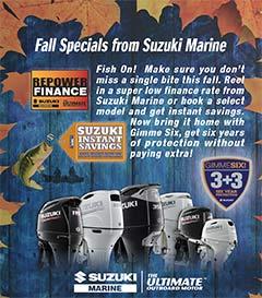 Suzuki Marine Fall Specials