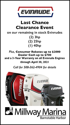 Last Chance Evinrude Clearance promo