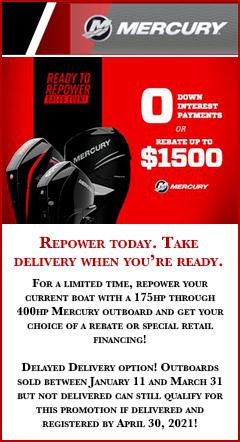 Mercury winter repower promotion