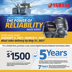 Yamaha winter 2021 outboard promotion