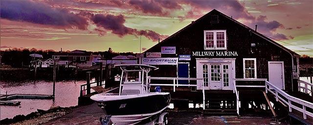 Millway Marina At Sunset